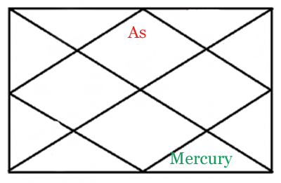 mercury in eight house