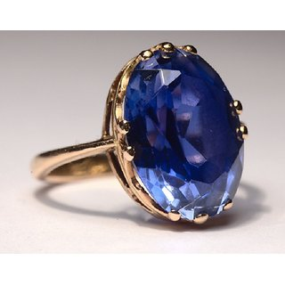 how to wear blue sapphire ring